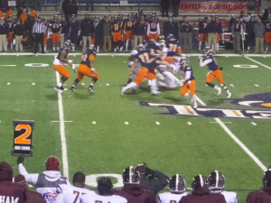 Bucknell Bison QB Trey Lauletta filled in for starter RJ Nitti last year when the Bison fell to Fordham, 30-27, in OT.
