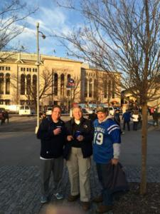 We plan to go back to the Pinstripe Bowl at Yankee stadium again in 2016.