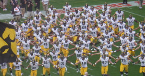 We can't believe how the Iowa Hawkeyes improved so much after one season.  They had no speed when we saw Tennessee crush them in last season's TaxSlayer Bowl.