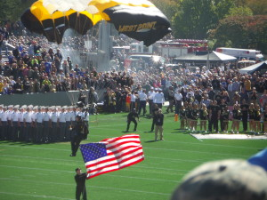 I think I'm rooting for Army this weekend.