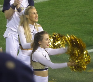 At least Georgia tech had something to cheer about when they beat Florida State.