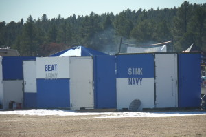 Only at the Air Force Academy.