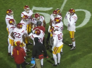We plan to see the  USC Trojans play again next year.