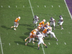 For the second year in a row our season ended with Tennessee dominating a Big Ten team in a one-sided bowl game.