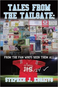Check out my book, Tales from the Tailgate, that shares the fun of over 30 years seeing 120 of these teams play for the very first time.