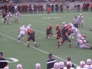 Our last Ivy League encounter was in 2014 when we saw the Brown Bruins defeat the Princeton Tigers, 27-16.