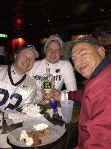 Mas Dog and Nittany Lions at the Pyhrst!