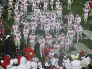 The former No. 2 team in the nation before the opening kickoff.